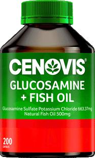 Cenovis Glucosamine + Fish Oil