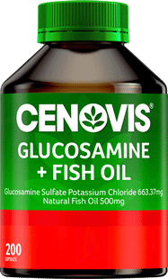 Cenovis Glucosamine and Fish Oil<br/>200 Capsules