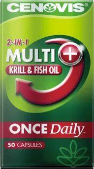 Cenovis Once Daily Multi + Krill & Fish Oil