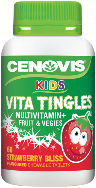 Cenovis Kids Vita Tingles Multivitamin + Fruit & Vegies
