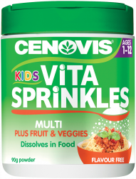Cenovis Kids Vita Sprinkles Multi + Fruit & Vegies