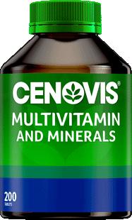 Cenovis Multivitamin & Minerals Tablets