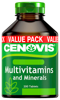 Cenovis Multivitamins and Minerals, tablets