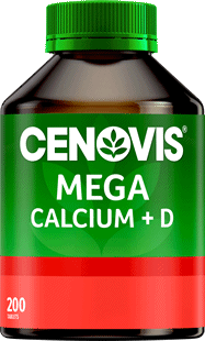 Cenovis MEGA Calcium + D <br />200 Tablets