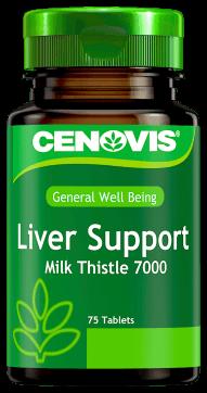 Cenovis Liver Support Milk Thistle 7000 <br />75 Tablets
