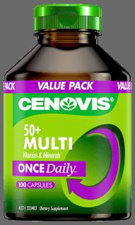 Cenovis Once Daily 50+ Multi