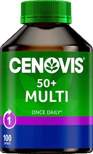 Cenovis 50+ Multi Capsules