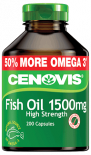Cenovis Fish Oil 1500mg High Strength, capsules