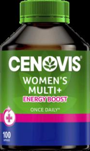 Cenovis Once Daily Women's Multi + Energy Capsules