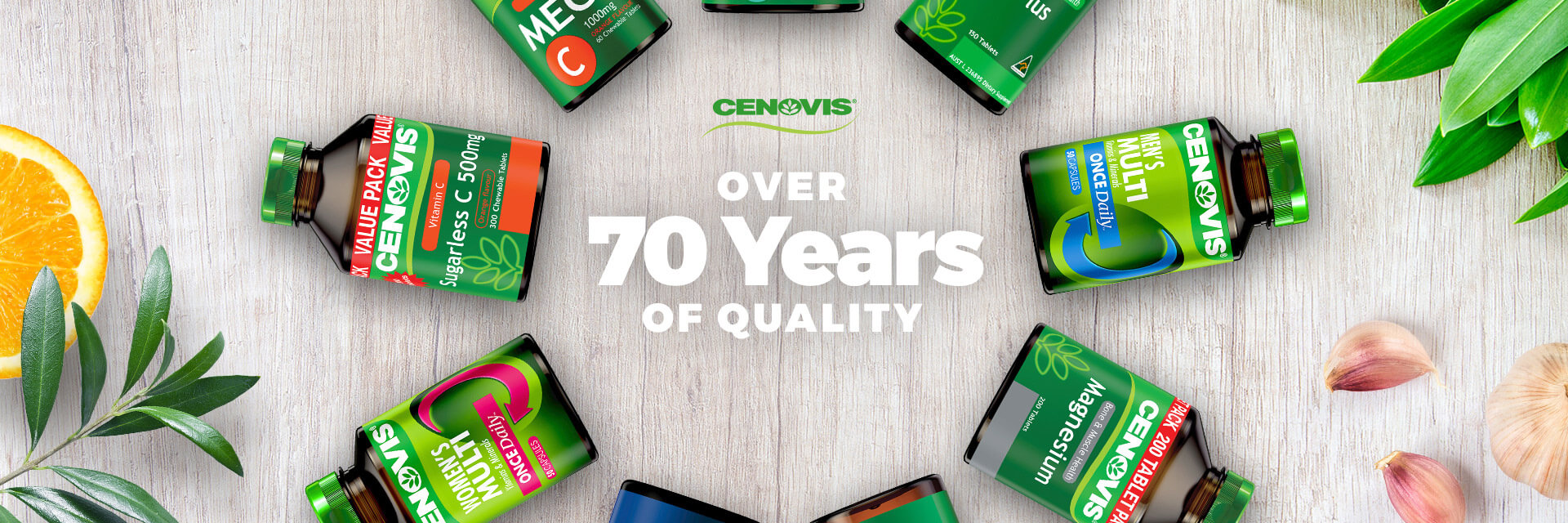 Cenovis - over 70 years of quality