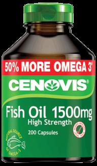 Cenovis Fish Oil 1500mg High Strength, capsules