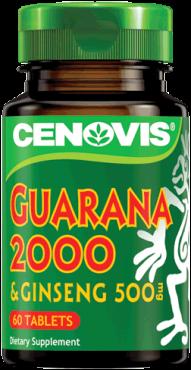 Cenovis Guarana 2000 & Ginseng 500mg