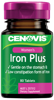 Cenovis Women's Iron Plus, tablets