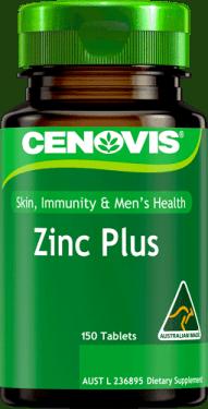 Cenovis Zinc Plus<br /> 150 Tablets