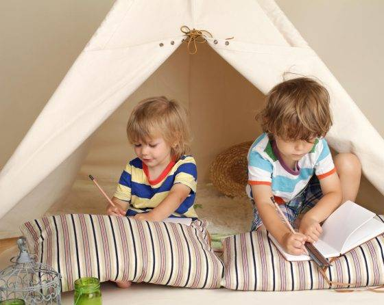 School holiday challenge activity: How to build an indoor cubby house