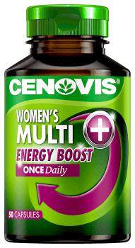 Cenovis Women's Multi Energy Boost Once Daily, capsules