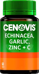 Cenovis Echinacea, Garlic, Zinc & C Tablets