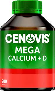 Cenovis MEGA Calcium + D Tablets