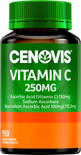 Cenovis Vitamin C 250mg <br /> Chewable Tablets