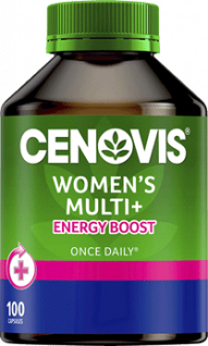 Cenovis Once Daily Women's Multi + Energy Capsules