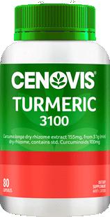 Cenovis Turmeric 3100<br />80 Capsules