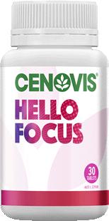 Cenovis Hello Focus <br /> Tablets